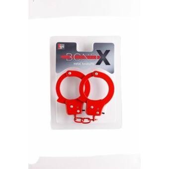 Bond-X piros fém bilincs