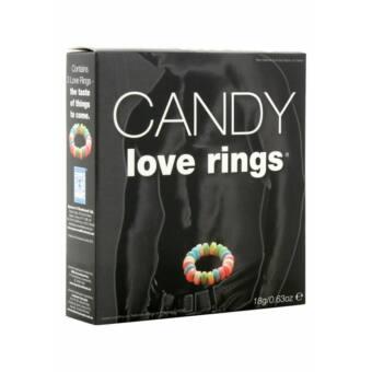 Cukorka péniszgyűrű (3 db)