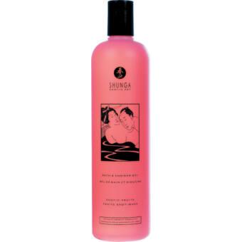 Shunga  fürdő gél - frissítő cseresznye (500ml)